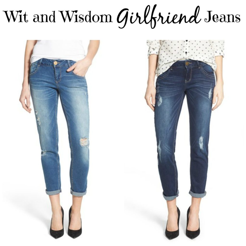 wit and wisdom girlfriend jeans