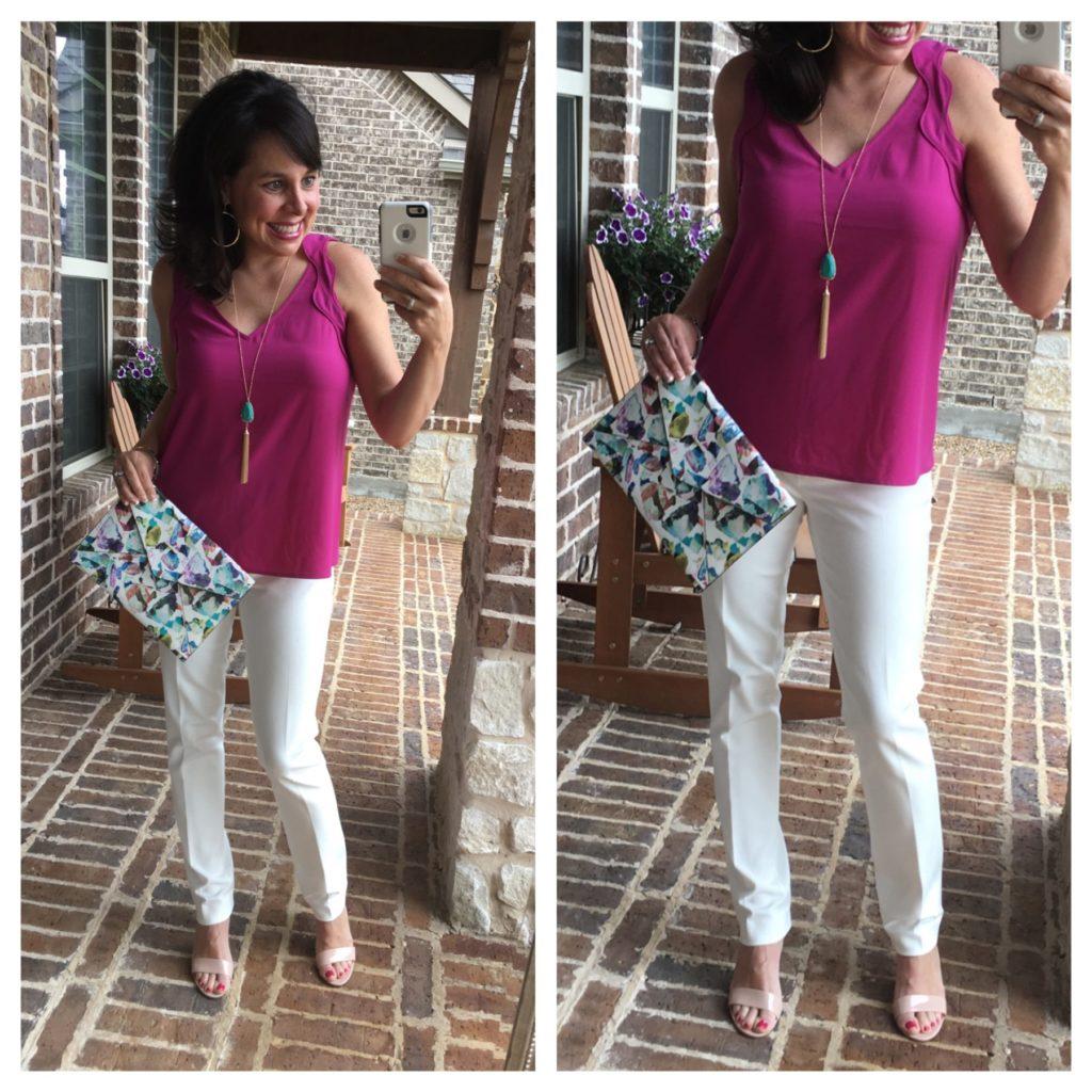 dressy white pants