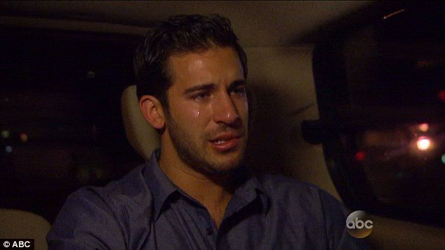derek crying in rejection suv
