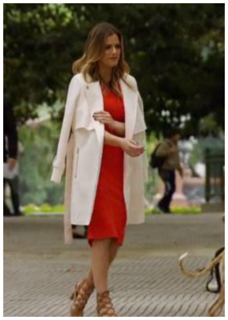 jojo in red dress