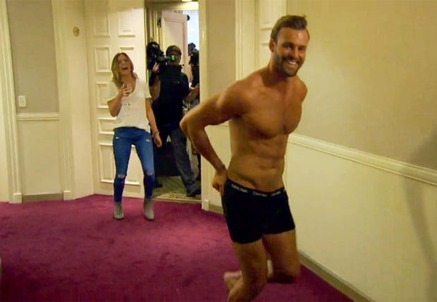 robby streaking on bachelorette