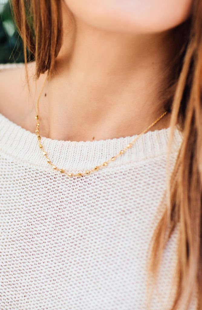 Nordstrom Anniversary Sale Gorjana necklace