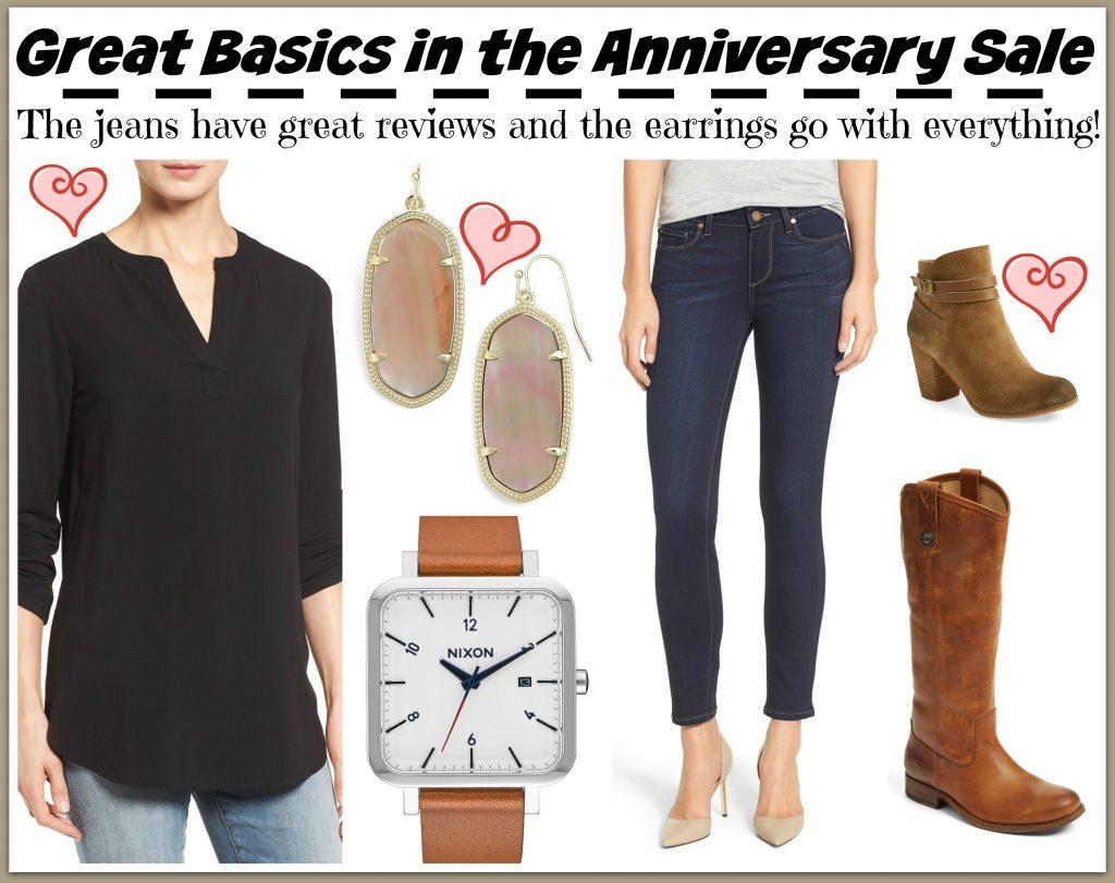 anniversary sale basics