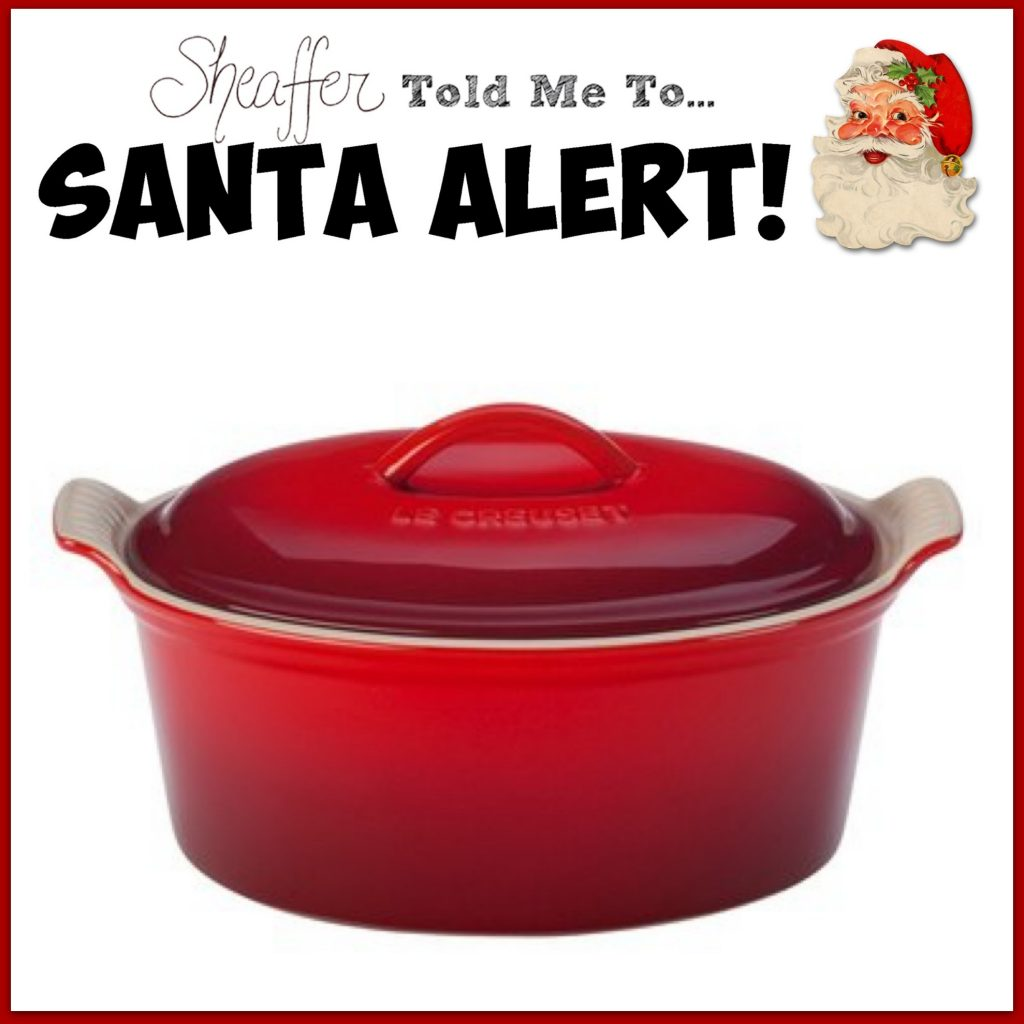 Sheaffer Told Me To SANTA ALERTS and Score Report Winner!
