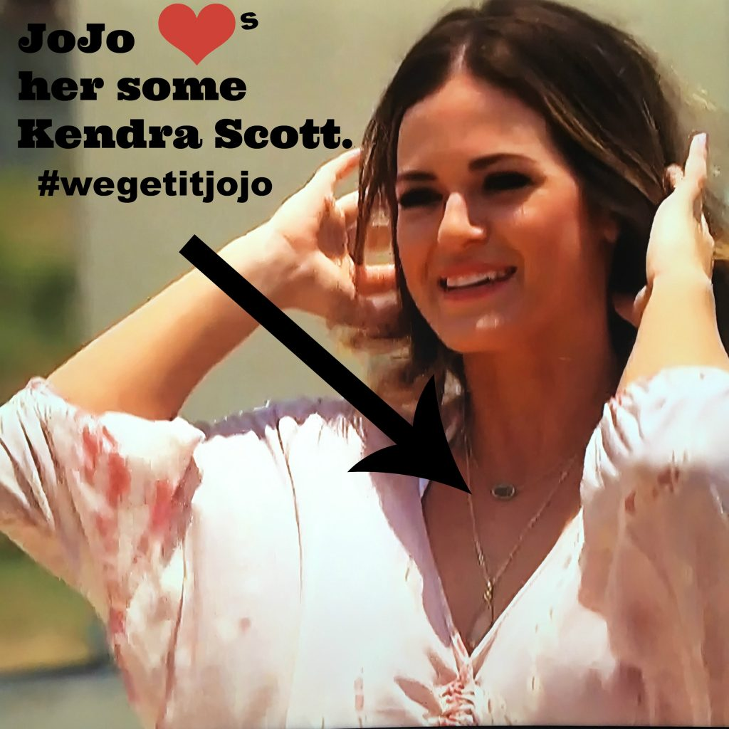 bachelorette jojo in kendra scott