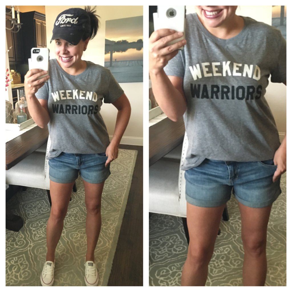 weekend warriors tee