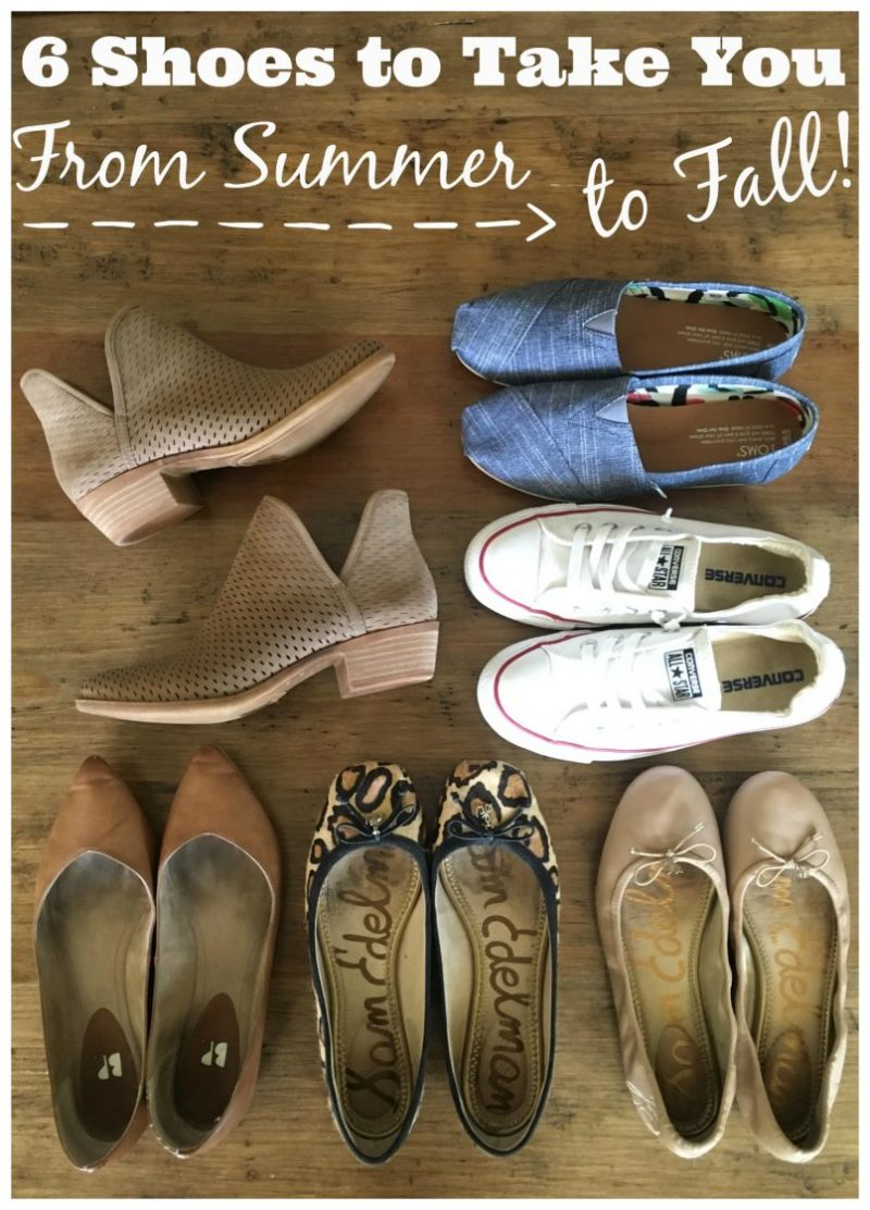 fall transition shoes