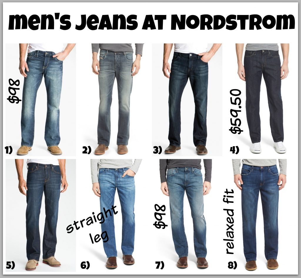 men's jeans at nordstrom