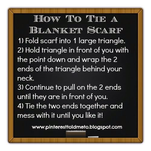 Blanket Scarf Tips and Tricks!