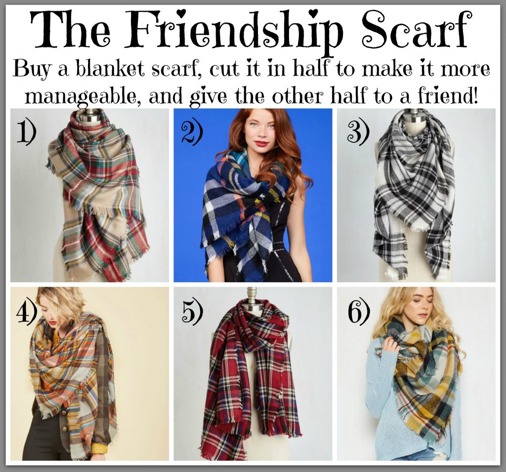 how to cut a rectangular blanket scarf
