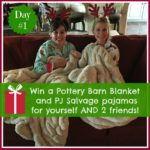 5 Days of Fabulous Day #1:  Pajamas and Throws… AND CYBER MONDAY!