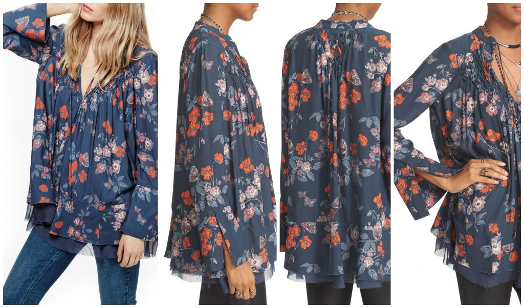 free people smocked tunic
