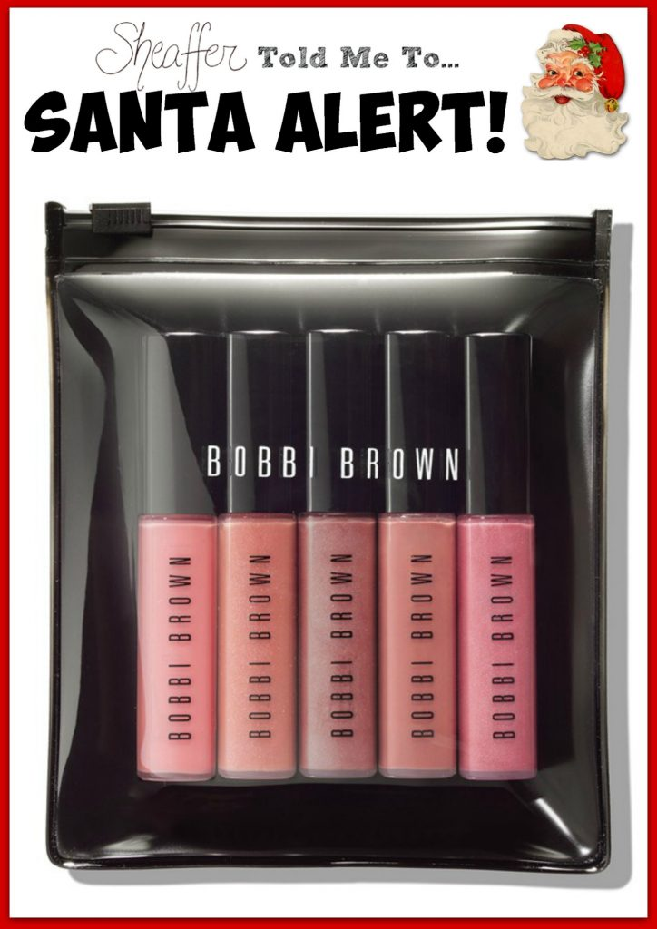 bobbi brown lip gloss set