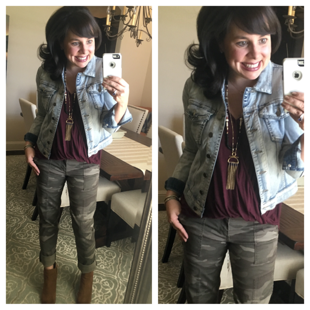 As You Can See, At 5'4″, I Had To Cuff The Pants A Couple Of Times For Them  To Be Short Enough To Wear With Booties