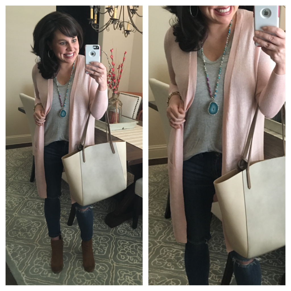 2 PERFECT TRANSITIONAL PIECES!  +  Outfit and Jewelry Ideas (and a code)!