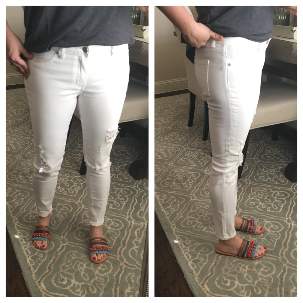 Sheaffer Told Me To WHITE JEANS FOR THE WIN!