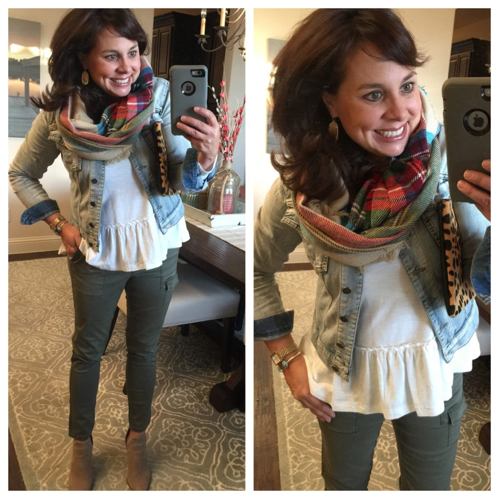 Sheaffer Told Me To A White Tee and a Scarf: Styled in 6 Different Outfits!