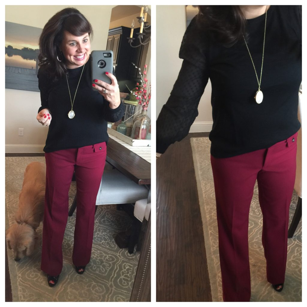 e22d2372af Trousers with Loft! Are you a Marisa or a Julie? — Sheaffer Told Me To