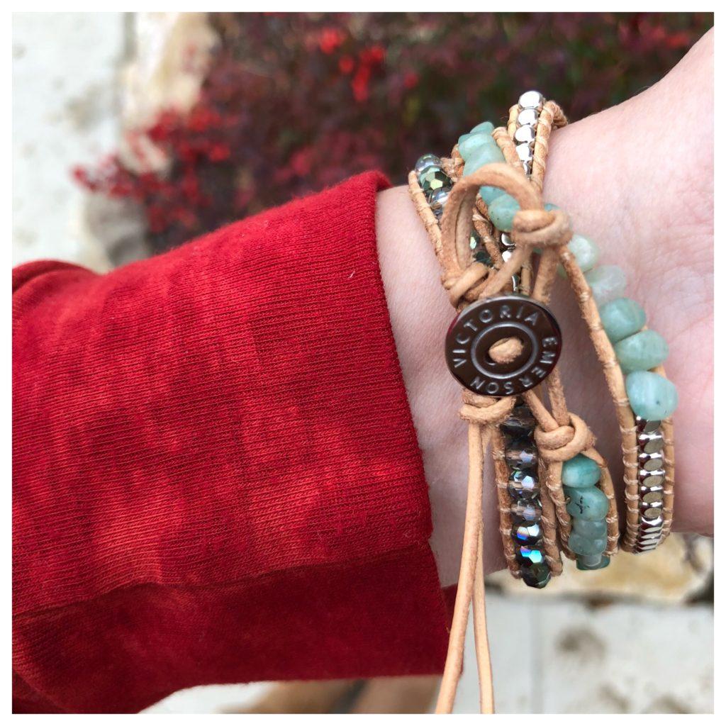 Sheaffer Told Me To Victoria Emerson bracelets