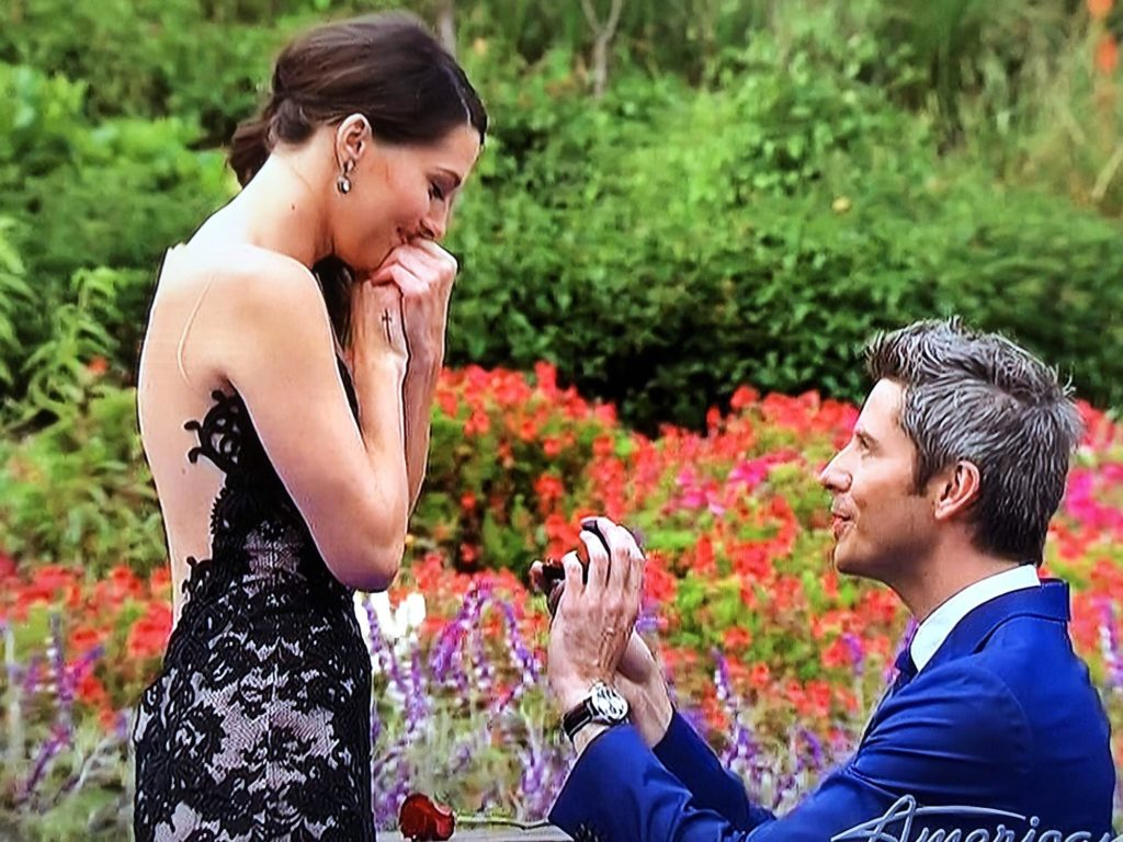 arie proposing to becca