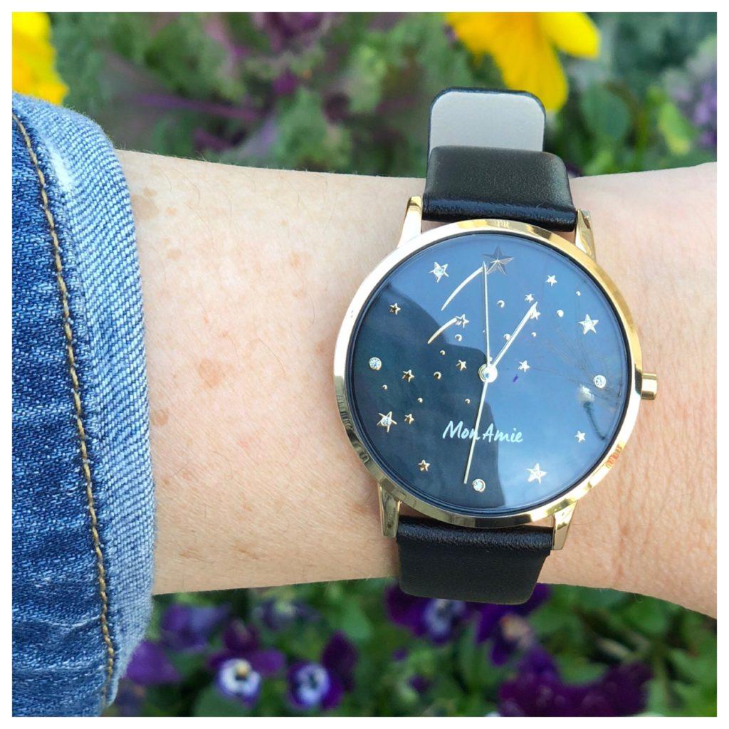 black mon amie watch