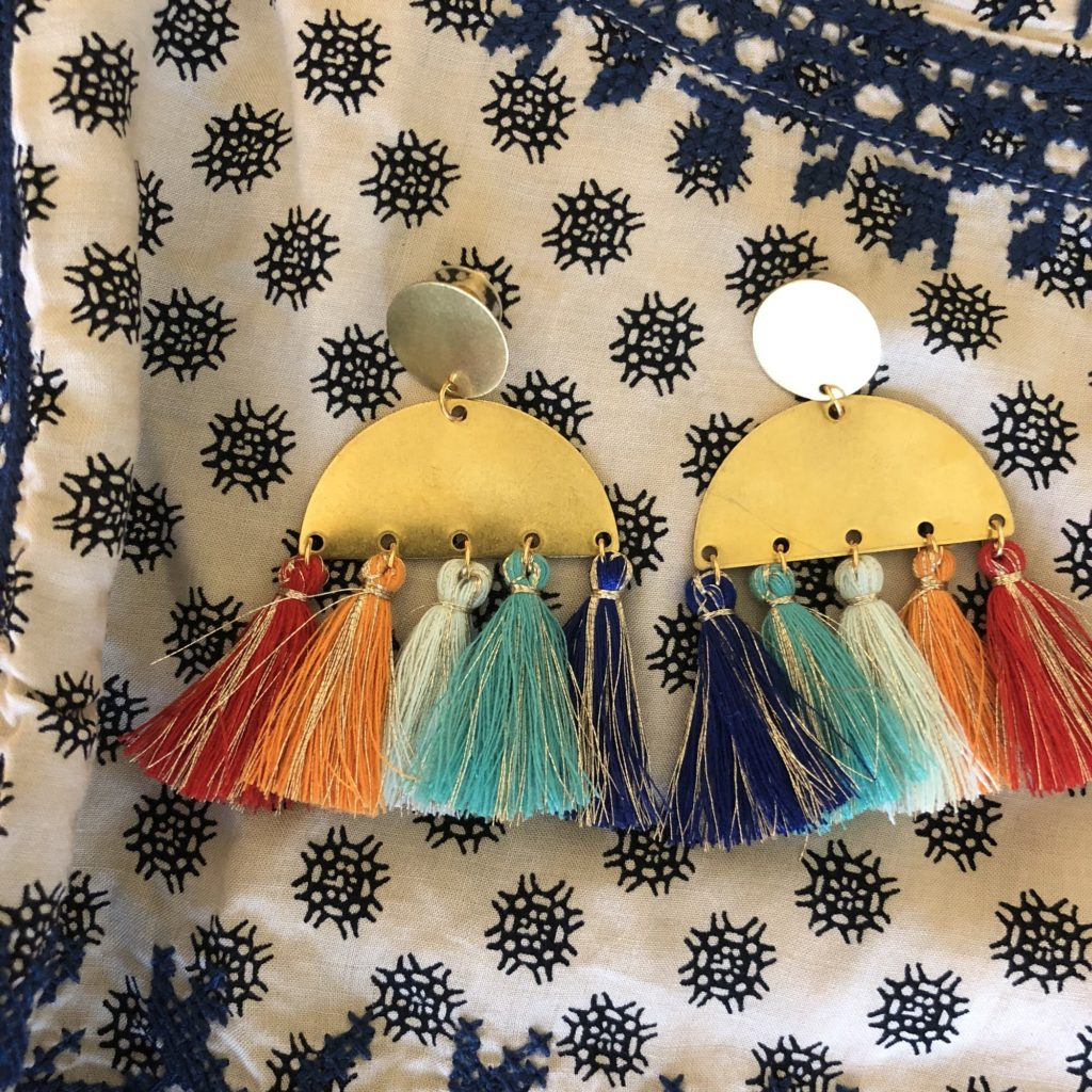 accessory concierge fringe earrings