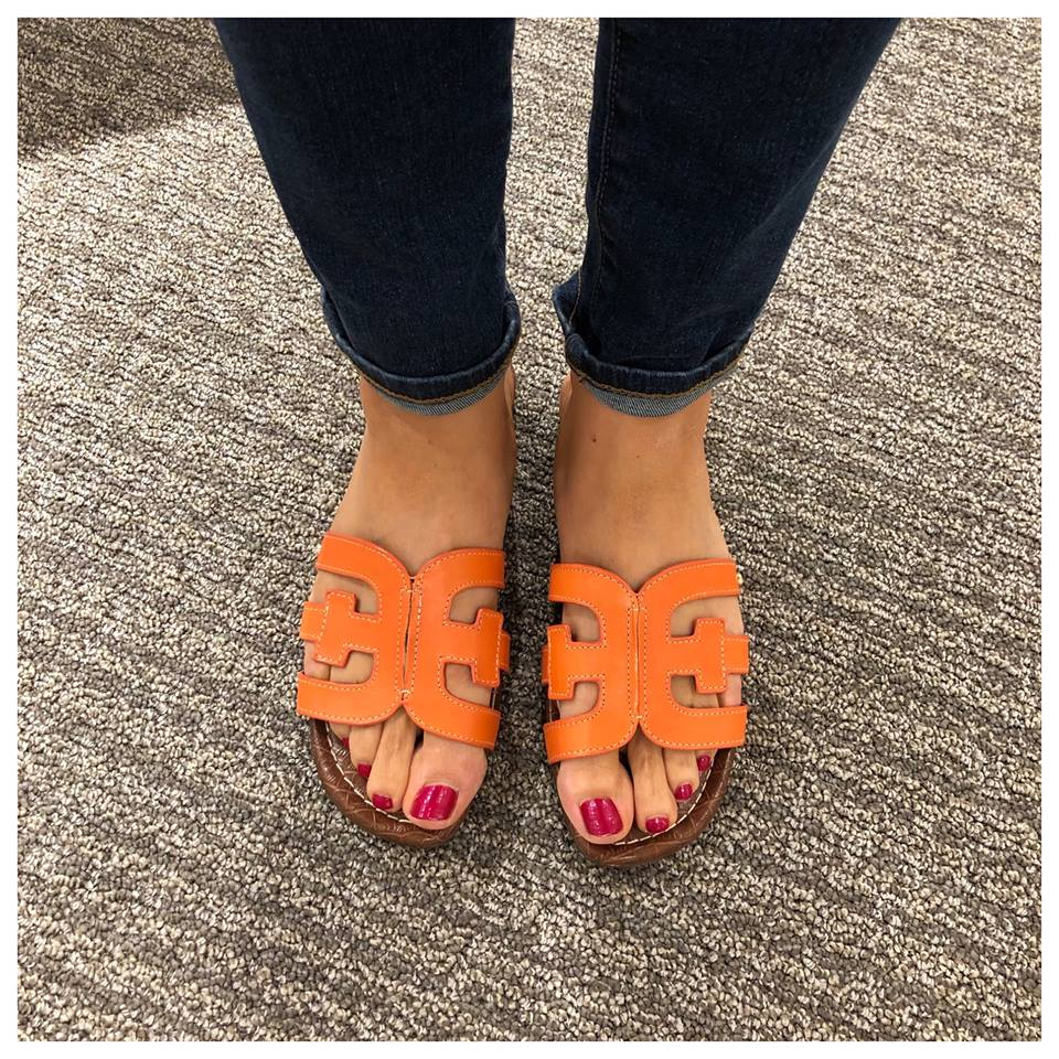 Sheaffer Told Me To Friday Favorites: Sam Edelman Cognac Sandals & Summer Outfits
