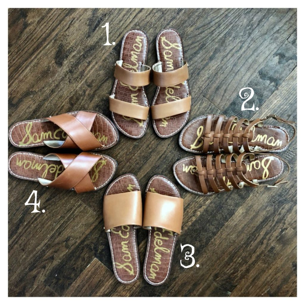 ecbc83e1d Sheaffer Told Me To Friday Favorites  Sam Edelman Cognac Sandals   Summer  Outfits