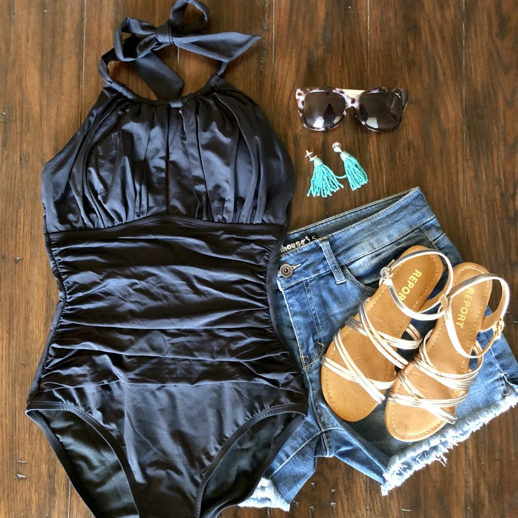 ModCloth swimsuit summer outfit