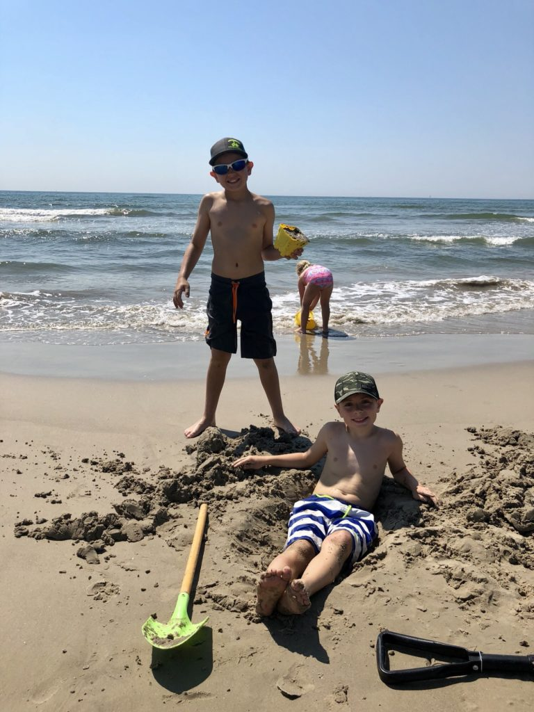 Port Aransas family beaches