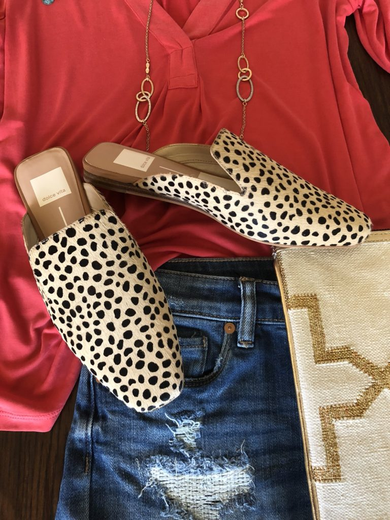 Sheaffer Told Me To Friday Favorites - Leopard Mules are my new favorite pair of shoes!