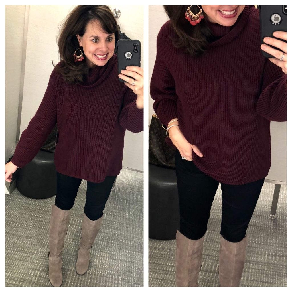 Sheaffer Told Me To Shopping with Sheaffer:  Sweaters (and a coat!) for New York!