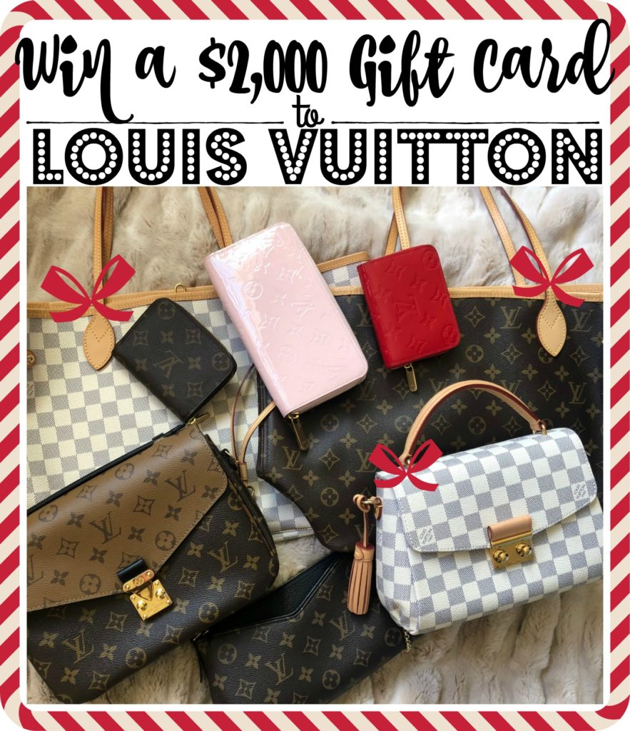 147ebe9699f Five Days of Fabulous, Day 5: A $2,000 Gift Card to Louis Vuitton ...