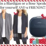 5 Days of Fabulous Day #1:  10 Blardigans or Bose Speakers and Cyber Monday Sale Picks!