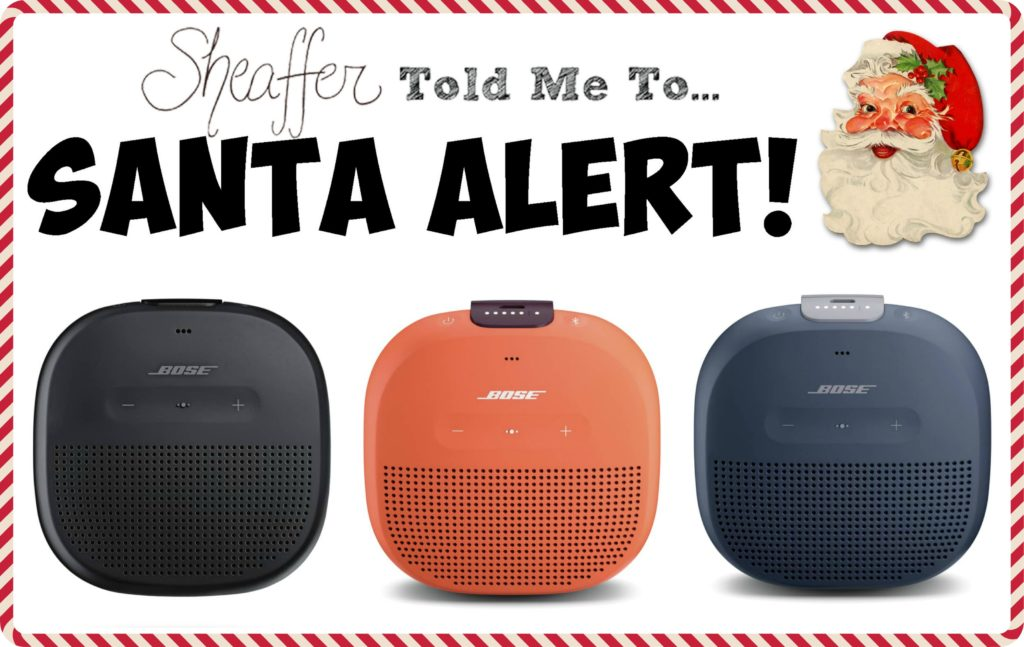 Sheaffer Told Me To 5 Days of Fabulous Day #1:  10 Blardigans or Bose Speakers and Cyber Monday Sale Picks!