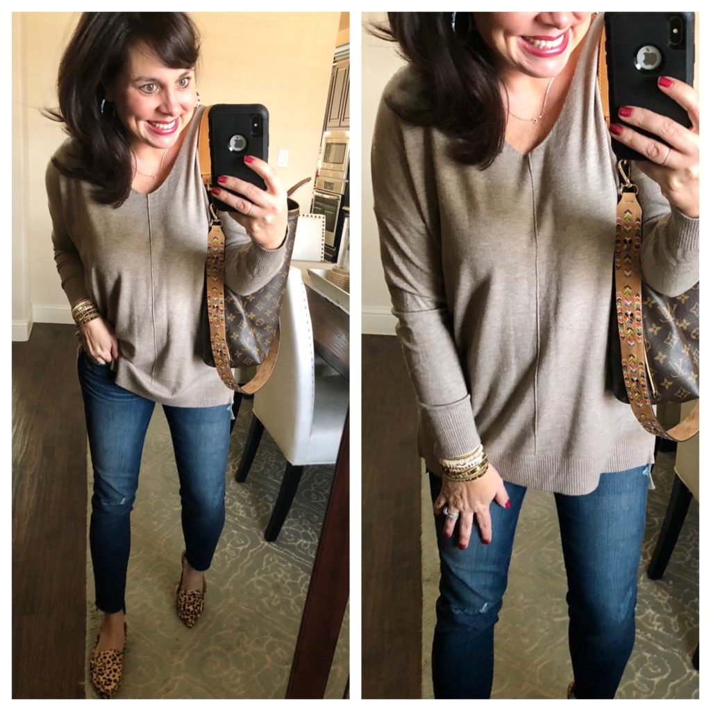 Sheaffer Told Me To Friday Favorites:  With a FANTASTIC Transitional Sweater and The Perfect Transition Shoe