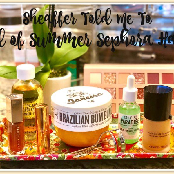 Sephora's Summer Bonus Event!
