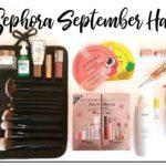 Sephora September Haul