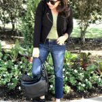 Sheaffer Told Me To A White Tee, A Black Cardigan, and Boyfriend Jeans| 2 WAYS
