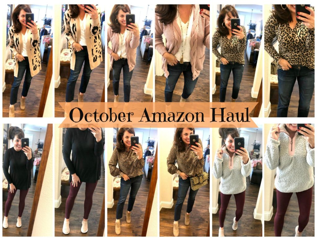 Sheaffer Told Me To October Amazon Haul: OFFICE OUTFITS, AMAZING LEGGINGS, GREAT SWEATERS, and a PUFFER