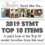 Sheaffer Told Me To Top 10 Reader Favorites | 2019