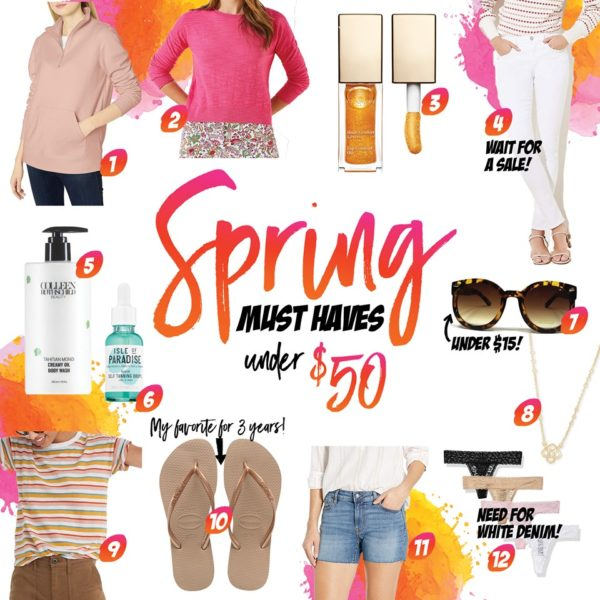 What's Up Wednesday | Spring Must Haves Under $50