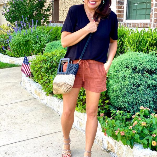 The Drawstring Shorts You Need and The Studded Sandals You'll Love