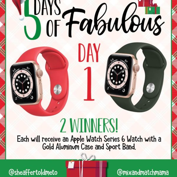 5 Days of Fabulous:  DAY #1!