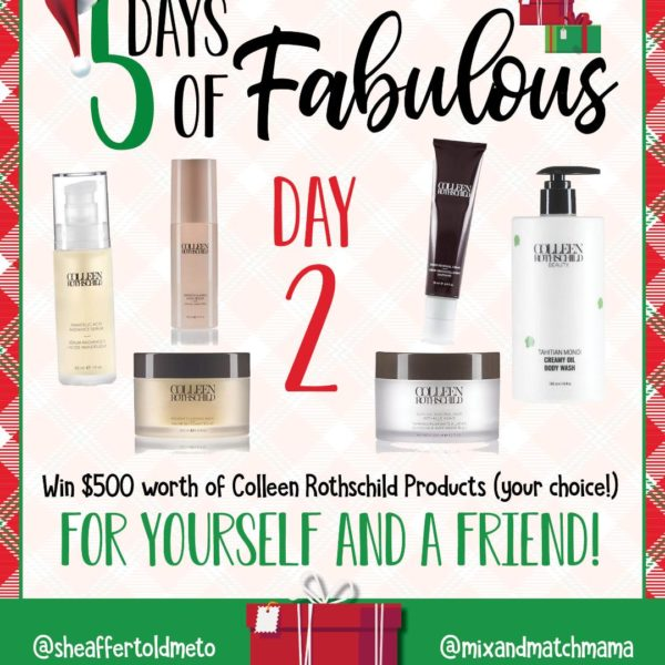 5 Days of Fabulous Day #2
