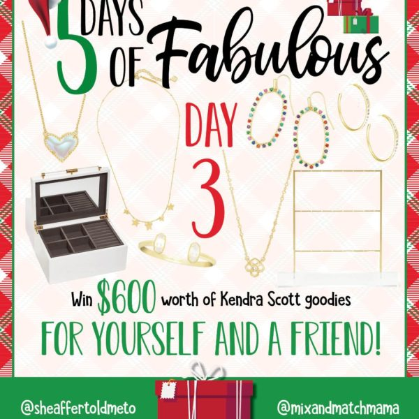 5 Days of Fabulous:  Day #3