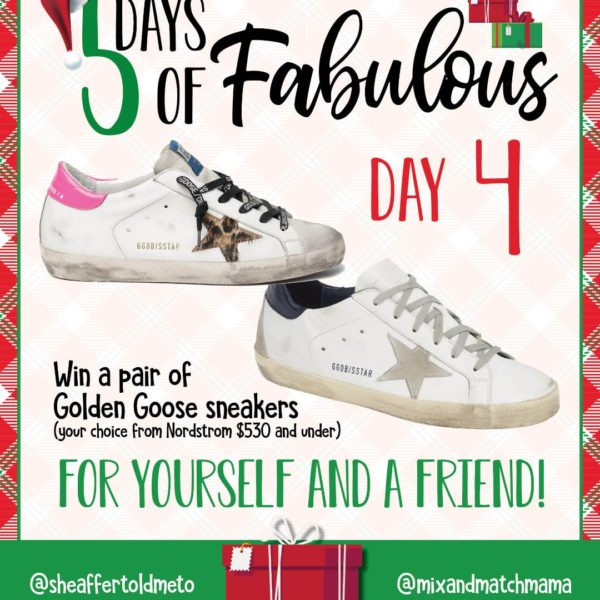 5 Days of Fabulous DAY #4