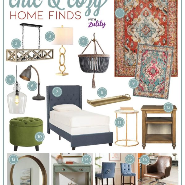 Chic and Cozy Home Finds