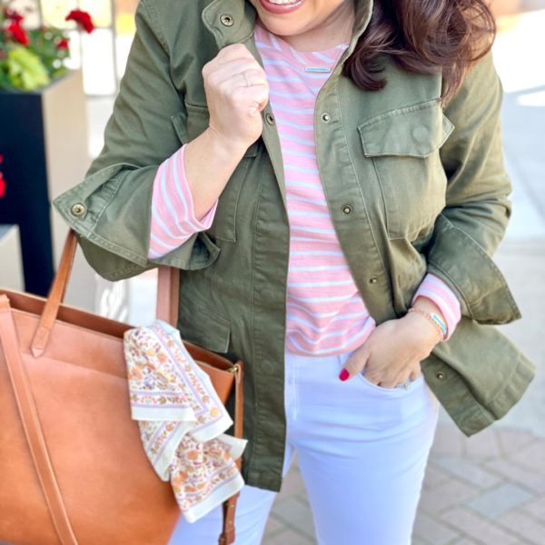 Style It Again, Sheaffer:  A Great Military Jacket