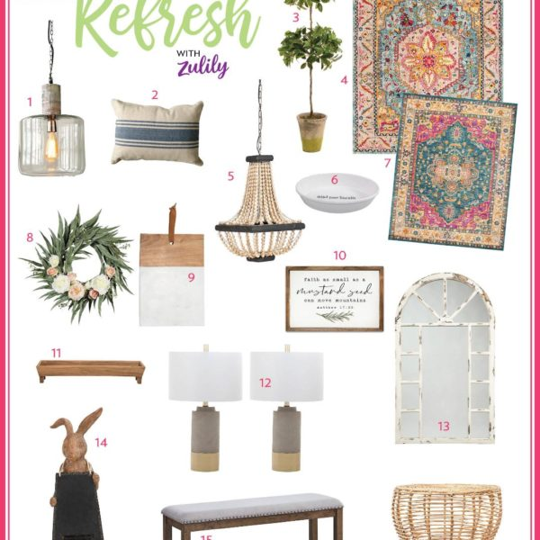 Spring Refresh with Zulily!